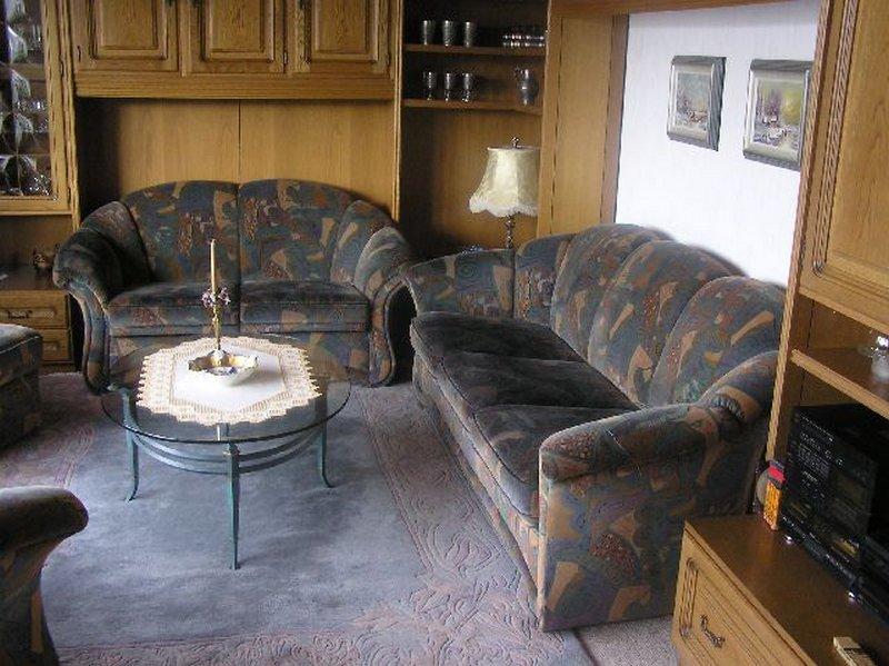 Alte Couch vor der Verschönerung