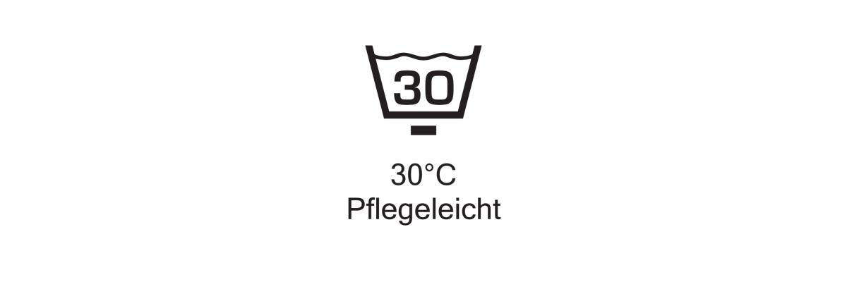 waschbar bis 30°C