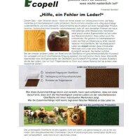 Ecopell Nappa Bioleder 622 - chianti