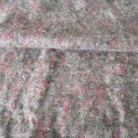 Polyestervlies hellgrau meliert